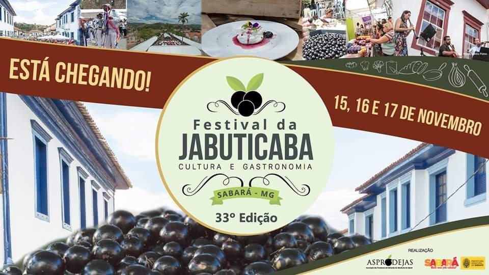 Festival de Jabuticabas de Sabará – MG – 2019
