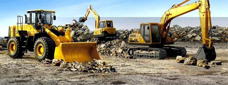 SATEL: Aluguel de maquinas pesadas